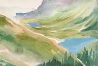 Glacier National Park study, 2018 SOLD